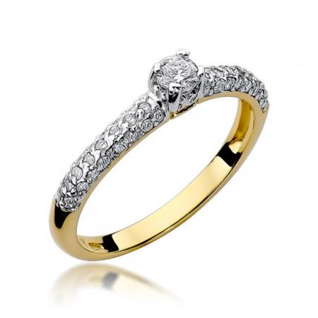 Inel Aur 14K cu Diamant 0.36 ct