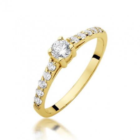 Inel Aur 14k cu Diamant 0.60 ct
