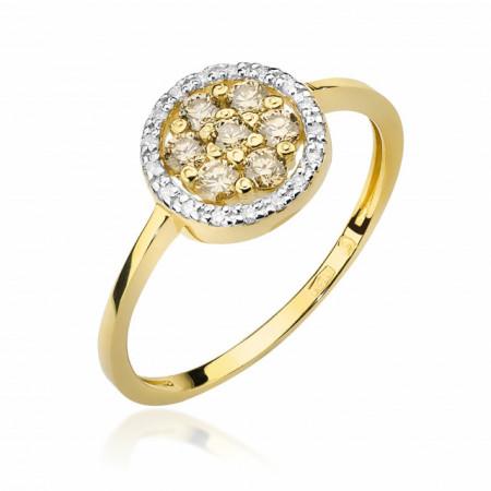 Inel Aur cu Diamant 0.44 ct