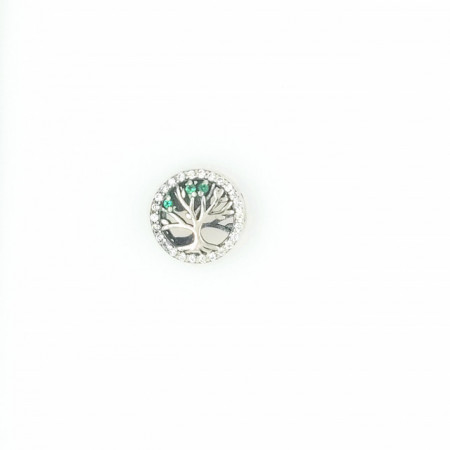 Talisman Argint 925 rodiat Copacul vietii si zirconiu