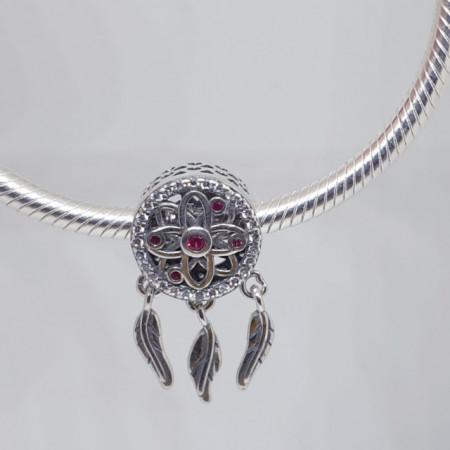 Talisman Argint 925 rodiat Prinzator de vise Simulated Diamond