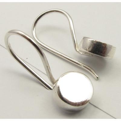Cercei Argint 925, 1.6 cm lungime