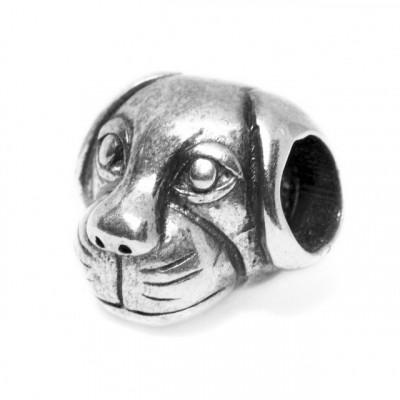 Talisman Argint 925 rodiat Cute Dog