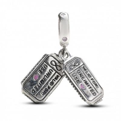 Talisman Argint 925 rodiat Free Hug