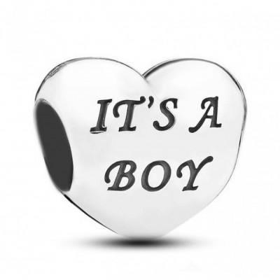 Talisman Argint 925 rodiat It's a boy