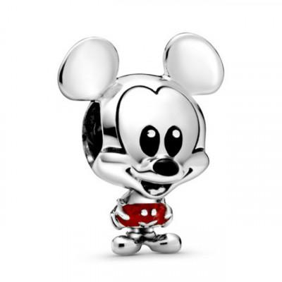 Talisman Argint 925 rodiat Mickey Mouse
