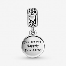 Talisman Argint 925 rodiat You are my happily ever after