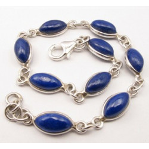 Bratara din Argint cu Lapis Lazuli