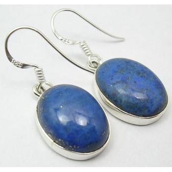 Cercei Argint cu Lapis Lazuli (3,3 cm)