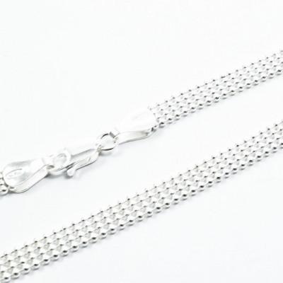 Lant Argint 925 Bead Laser 4R, 45cm lungime
