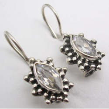 Cercei Argint cu Zirconiu Cubic 2,3 cm