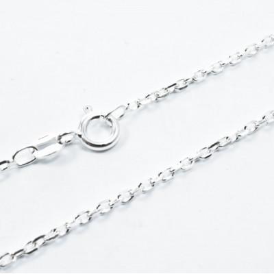 Lant Argint 925 Forzatina, 45 cm lungime