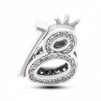 Talisman Argint 925 rodiat 18 ani