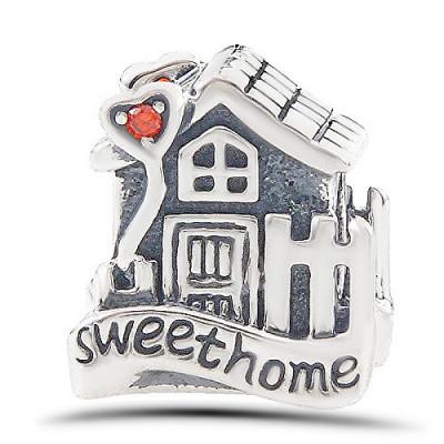 Talisman Argint 925 rodiat Sweet home