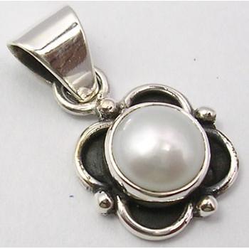 Pandantiv din Argint cu Perla FreshWater 2,3 cm