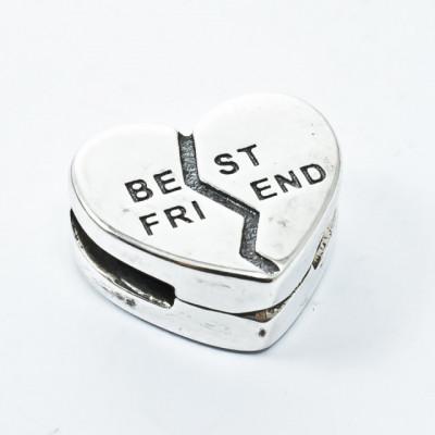 Talisman Argint 925 rodiat Best Friend