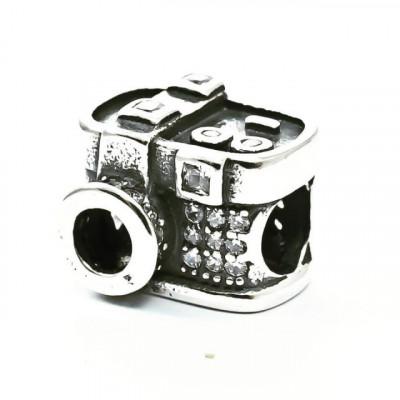 Talisman Argint 925 rodiat Camera Foto