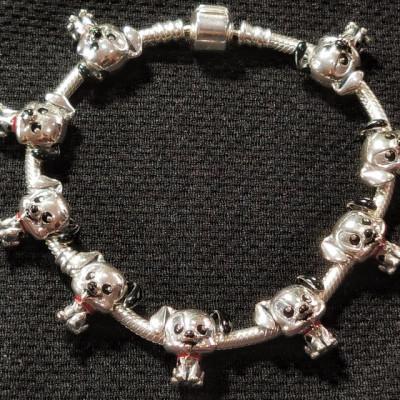 Talisman Argint 925 rodiat Dalmatian zambaret