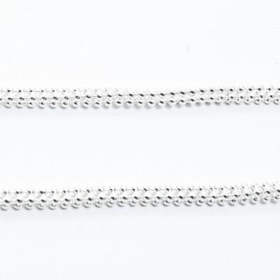 Lant Argint 925 Laser Round 4F, 50cm lungime