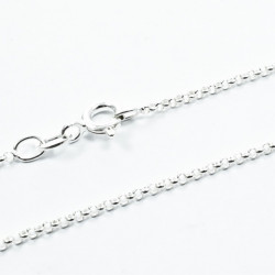 Lant Argint 925 RoloTondo, 45 cm lungime