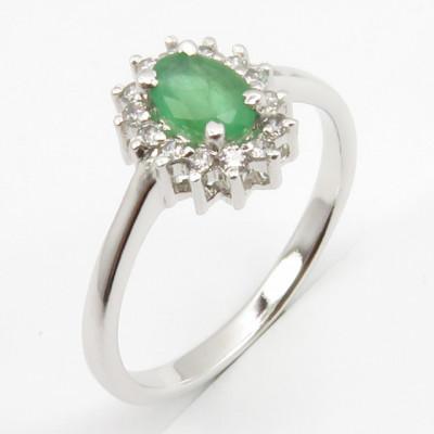 Set din Argint 925 cu Emerald