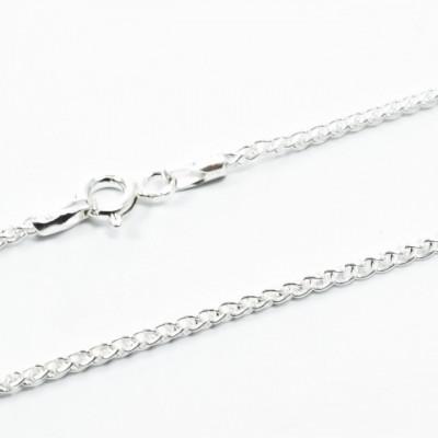 Lant Argint 925 Spiga, 45 cm lungime