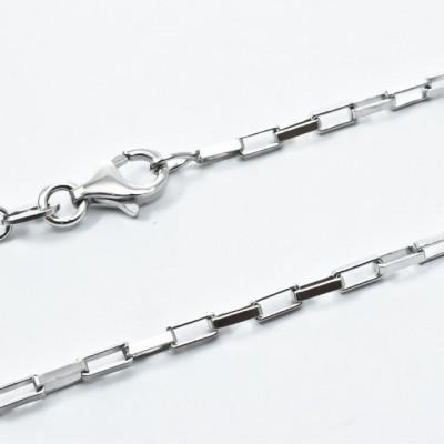 Lant B.C Argint 925, rodiat, lungime 55cm