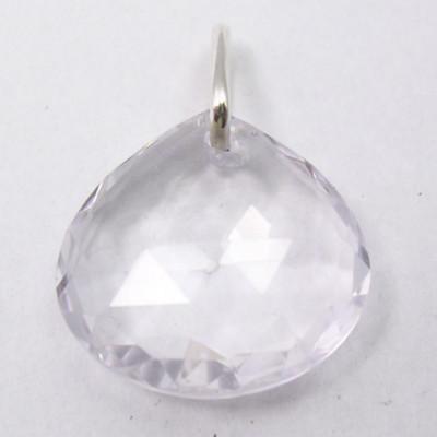 Pandantiv Argint 925 cu Cristal 2.1 cm lungime