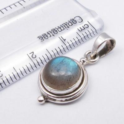 Pandntiv Argint 925 cu Labradorit 2.5 cm lungime