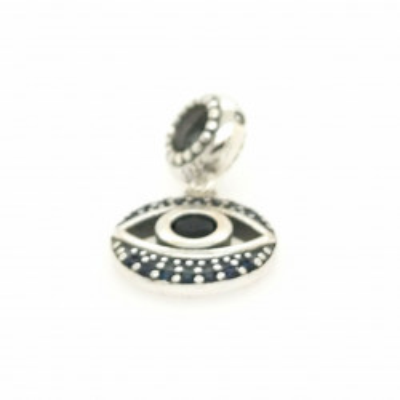 Talisman Argint 925 rodiat Ochiul lui Shiva