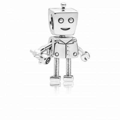 Talisman Argint 925 rodiat Robotel