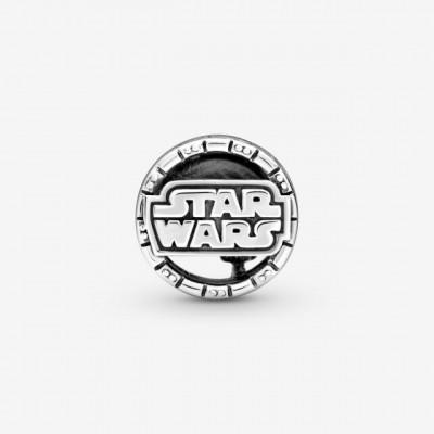 Talisman Argint 925 rodiat Star wars Simulated Diamond