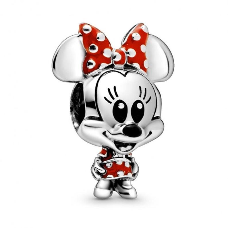 Talisman Argint 925 rodiat Minnie Mouse
