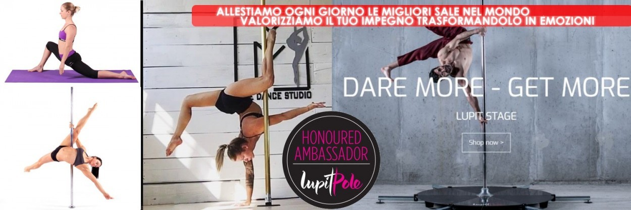 Pole dance inox brass IPSF