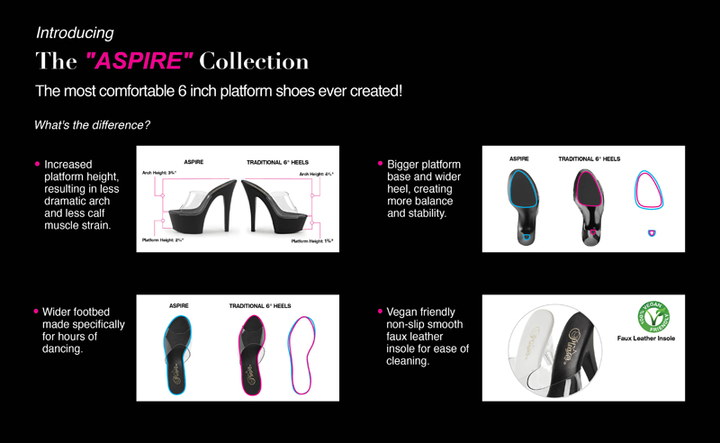aspire pleaser shoes