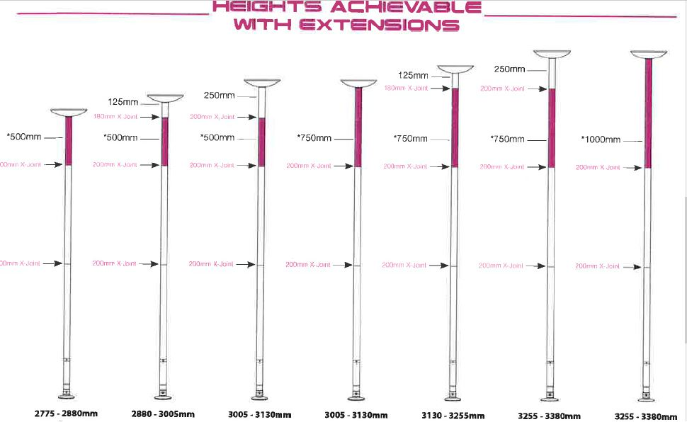 xpole xpert clock italia pole dance shop