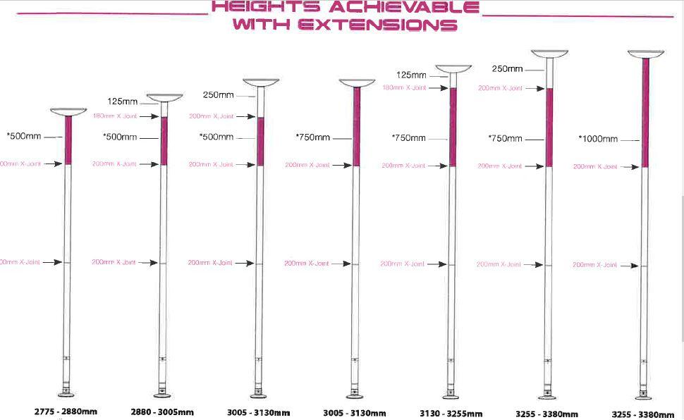 xpole xpert clock italia pole dance shop