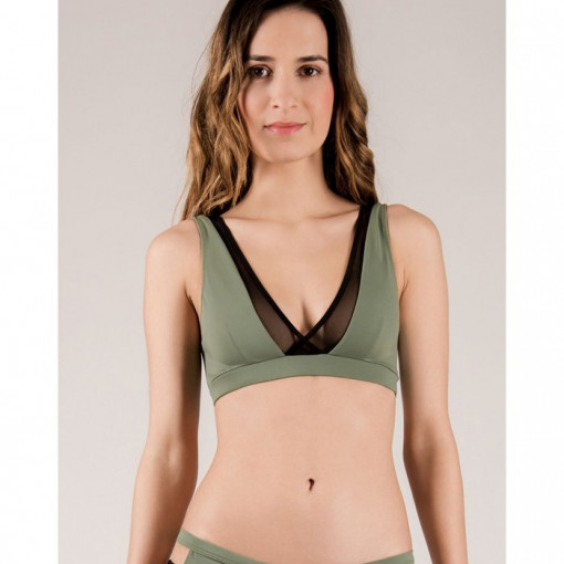 MADEMOISELLE SPIN - STELLA TOP ARMY GREEN
