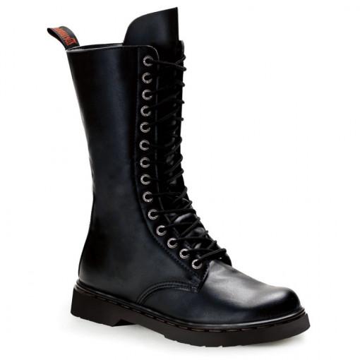 Demonia DEFIANT-300 Blk Vegan Leather
