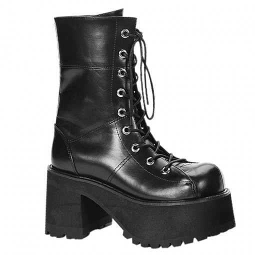 Demonia RANGER-301 Blk Vegan Leather