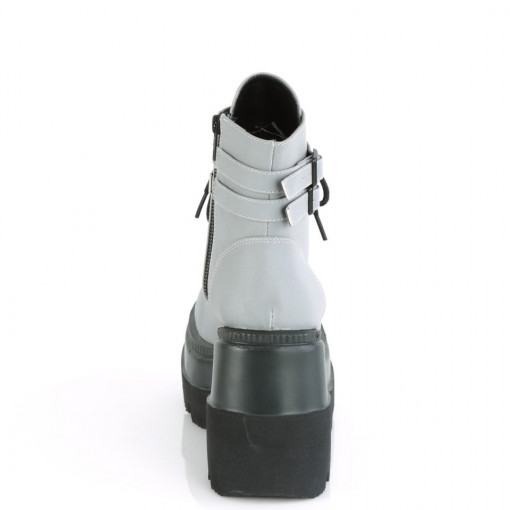 Demonia SHAKER-52 Grey Reflective