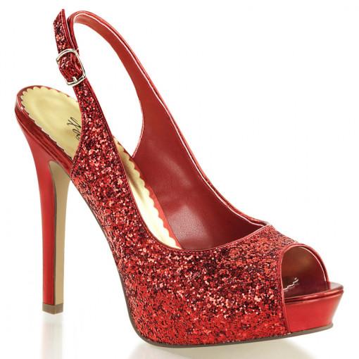 Fabulicious LUMINA-28G Red Glitter