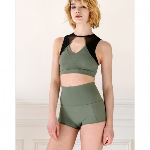 Mademoiselle spin JULIETTE BOTTOM ARMY GREEN