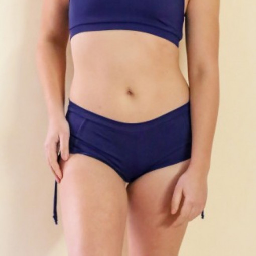 MADEMOISELLE SPIN - SHORT COCO BLU Notte
