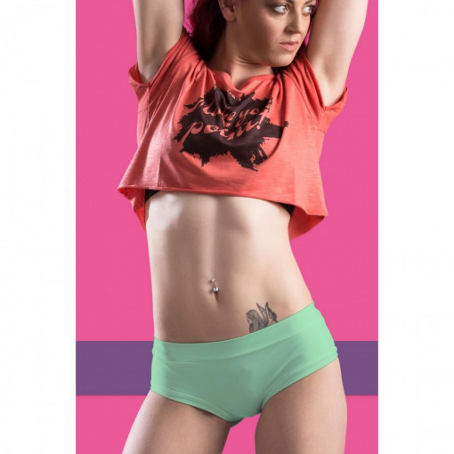POINT OUT POLE WEAR - KIWI SHORT SORBET BOTTOM COLLECTION