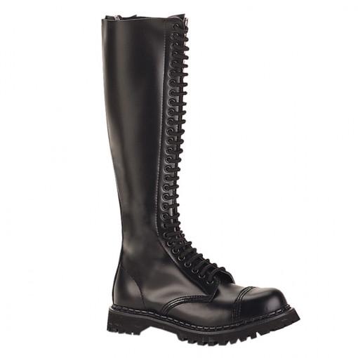 Demonia ROCKY-30 Blk Leather