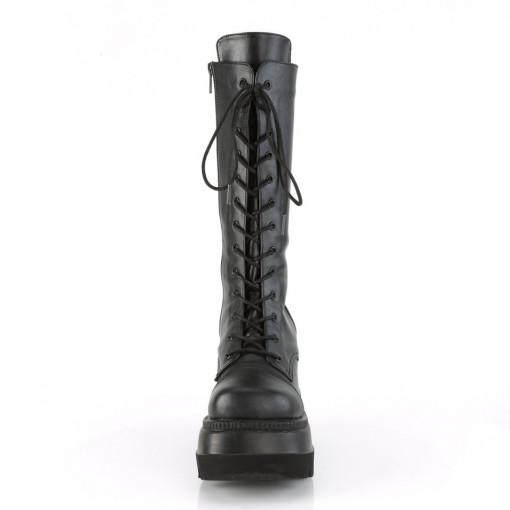 Demonia SHAKER-72 Blk Vegan Leather