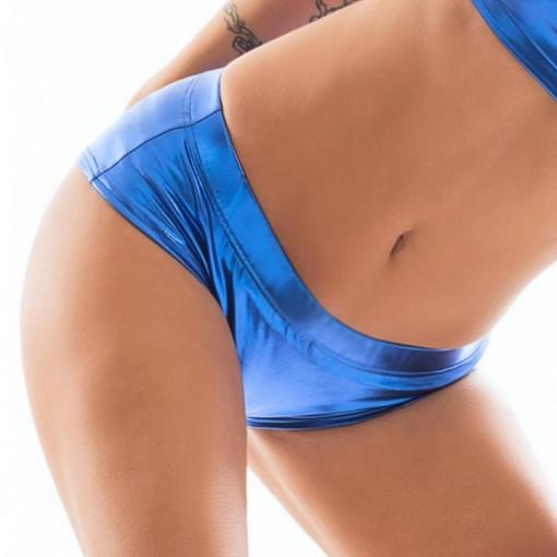POINT OUT Short Amphitrite lucido blu