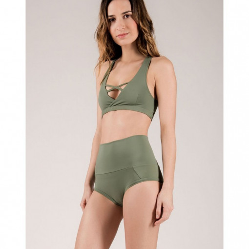 Mademoiselle spin EXTENDED BOTTOM ARMY GREEN