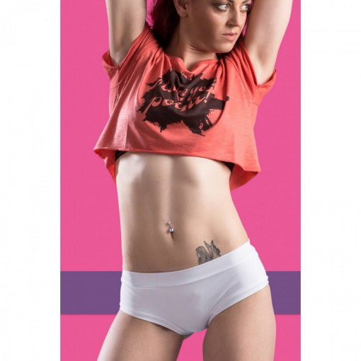 POINT OUT POLE WEAR - VANILLA SHORT SORBET BOTTOM COLLECTION immagini